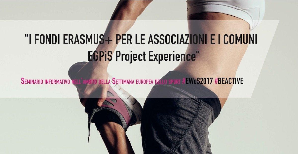 Seminario informativo sui fondi Erasmus
