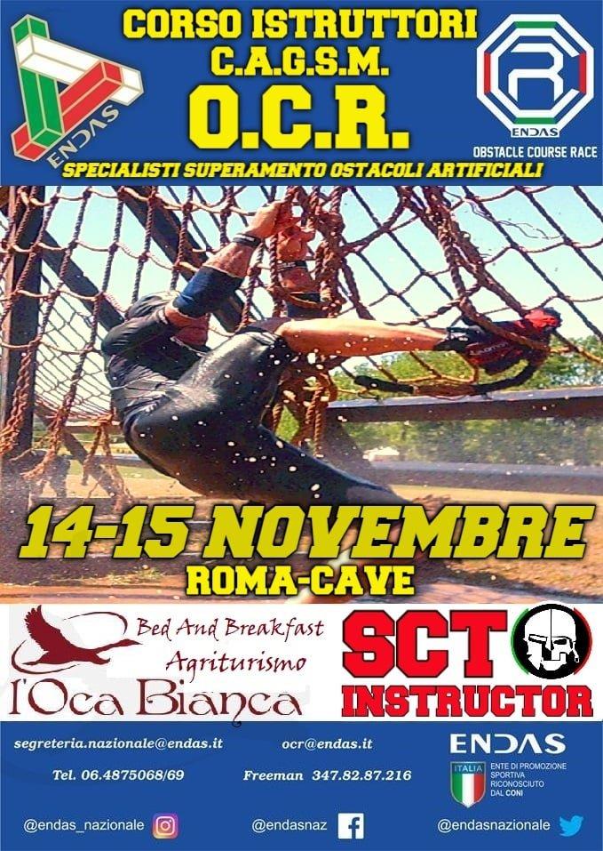 OCR: corso istruttori C.A.S.G.M. 14-15 novembre