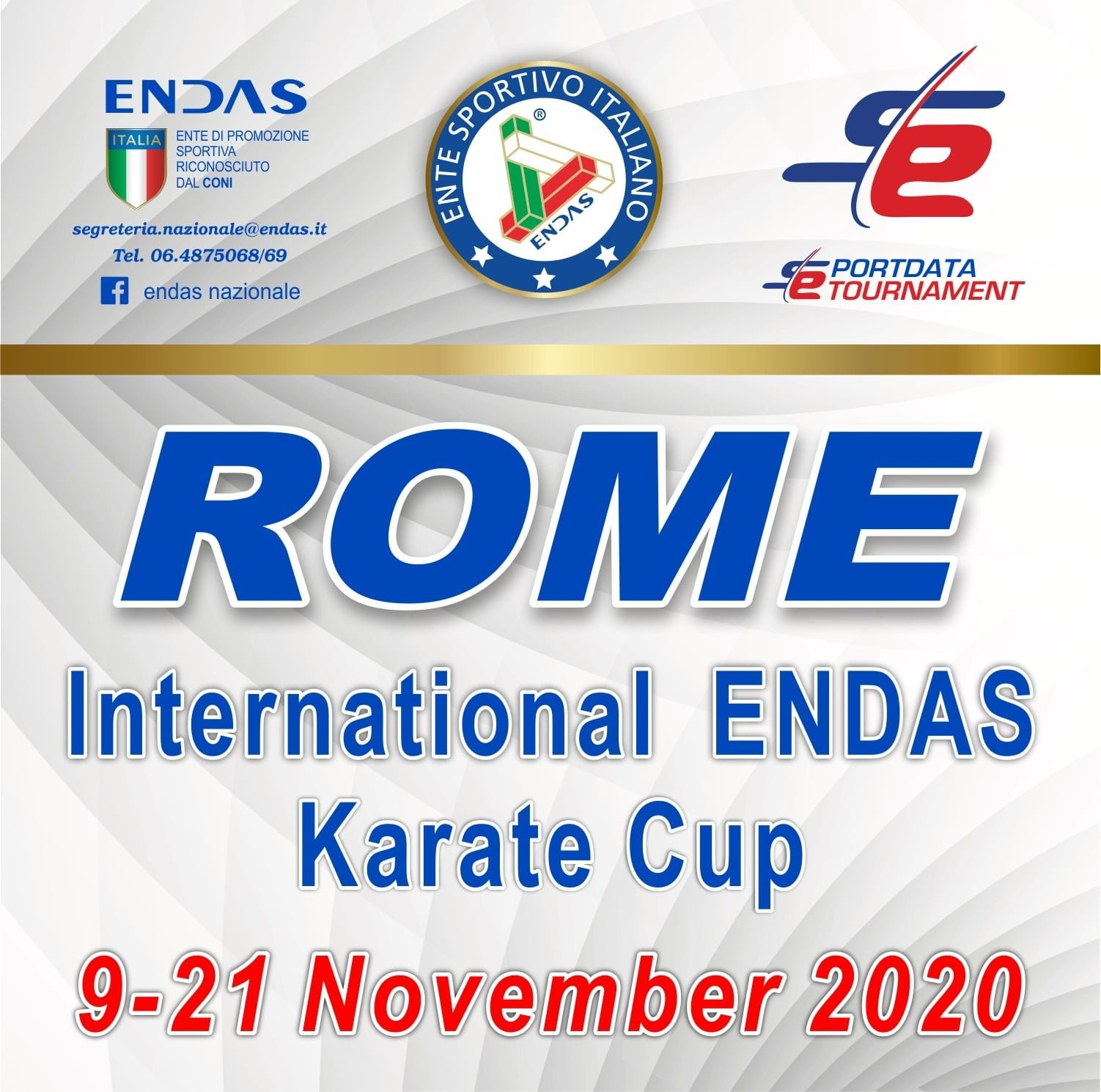 Rome International ENDAS Karate Cup