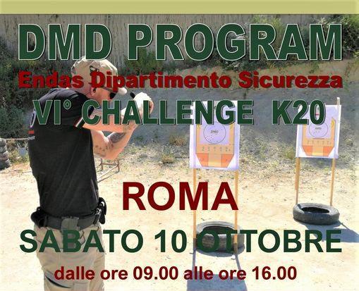 VI° Challenge K20 Roma Tiro Dinamico
